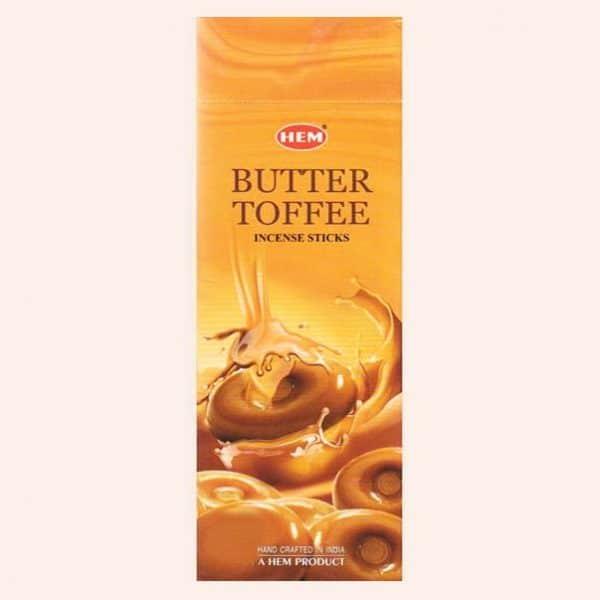 Благовония HEM Butter Toffee Ириски