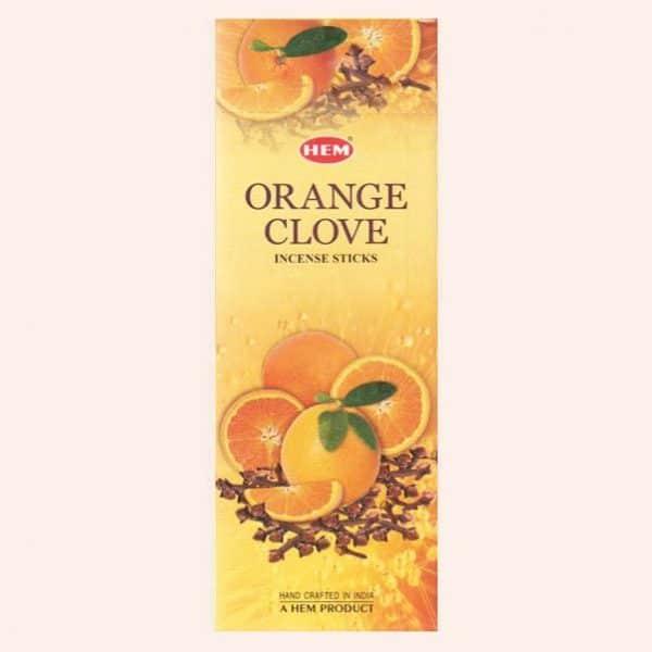 Благовония HEM Orange Clove Апельсин Гвоздика