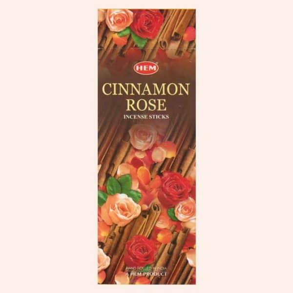 Благовония HEM Cinnamon Rose Корица Роза