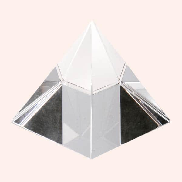 Хрустальная пирамида 6.5 см