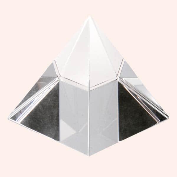 Хрустальная пирамида 7.5 см