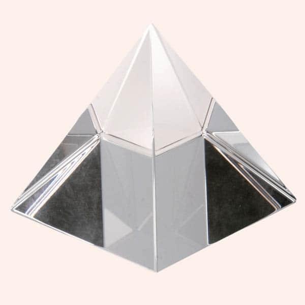 Хрустальная пирамида 8.5 см