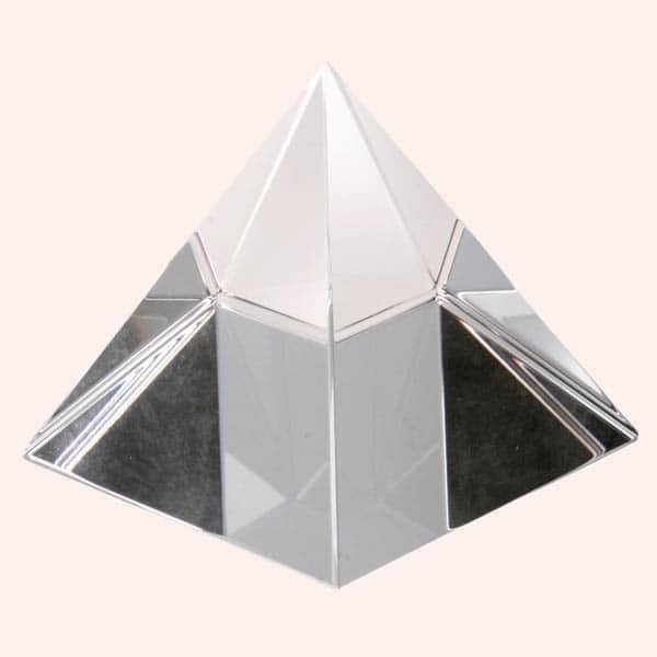 Хрустальная пирамида 9.5 см