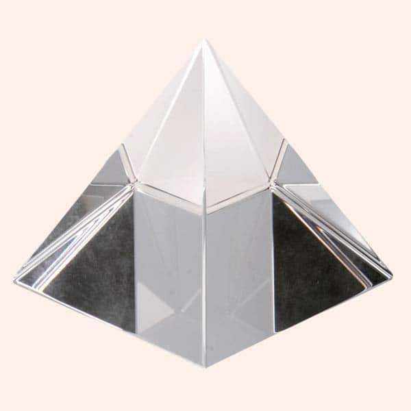 Хрустальная пирамида 10.5 см