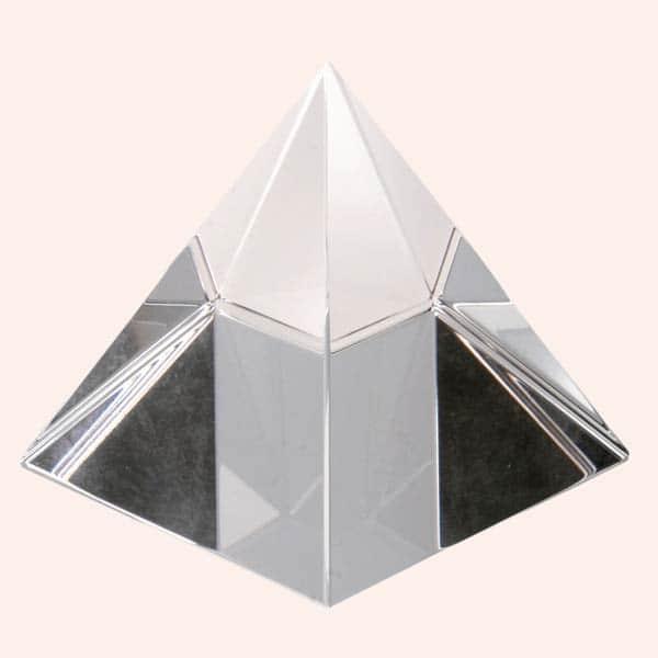 Хрустальная пирамида 11.5 см