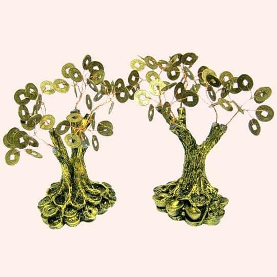 Денежное дерево на деньгах 16см