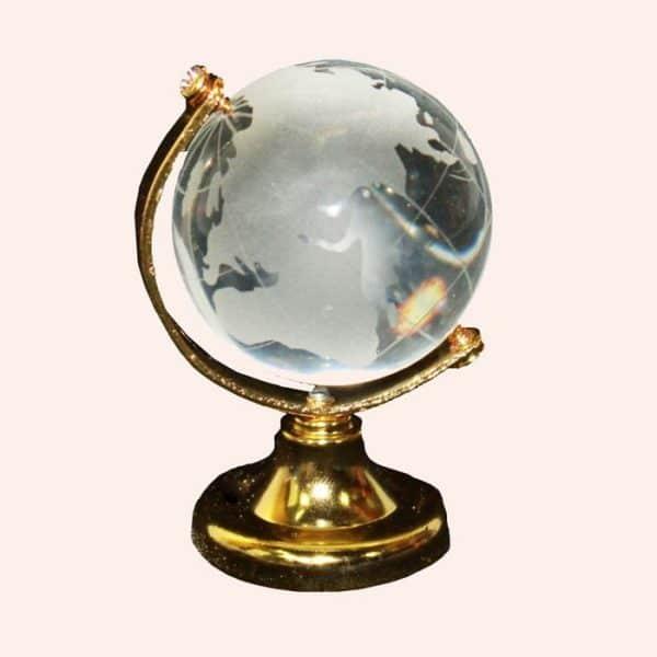 Хрустальный глобус 4 см