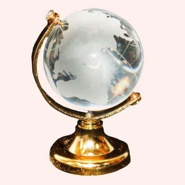 Хрустальный глобус 5.5 см