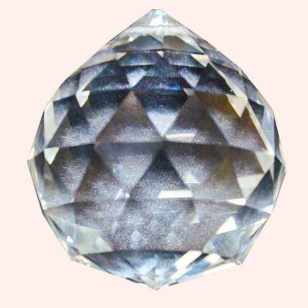 Кристалл Фен Шуй 6 см прозрачный