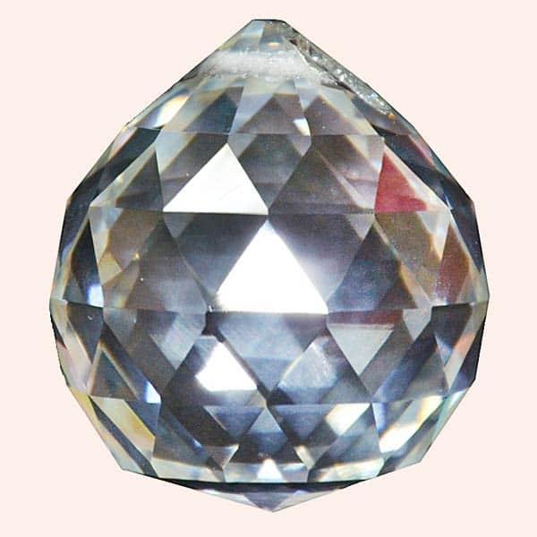 Кристалл Фен Шуй 5 см прозрачный