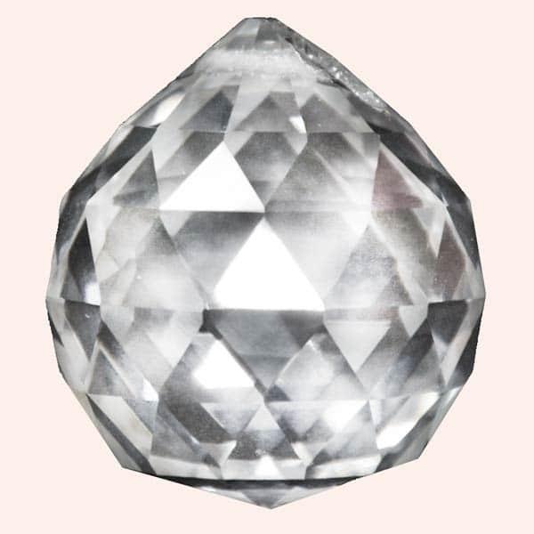 Кристалл Фен Шуй 3.5 см прозрачный