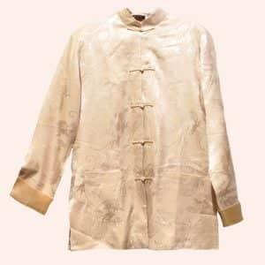 Белая китайская курточка