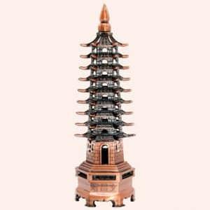 Пагода 9 ярусов медь