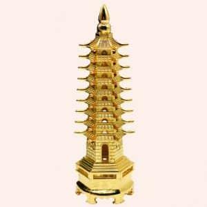 Пагода 9 ярусов латунь
