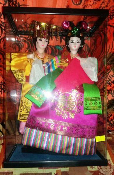 Китайская кукла - пара