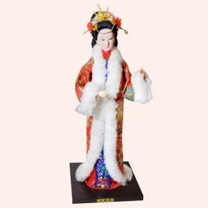 Японская кукла 30см 3
