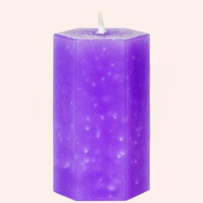 Ароматическая травяная свеча Очищение кармы