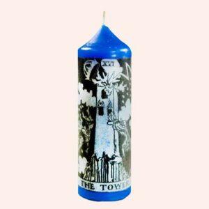 Свеча Таро Башня