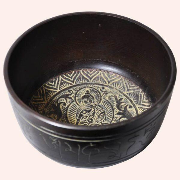 Поющая чаша литая Будда Медицины