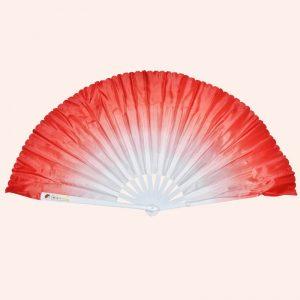 Китайский веер для танца красный 80 см