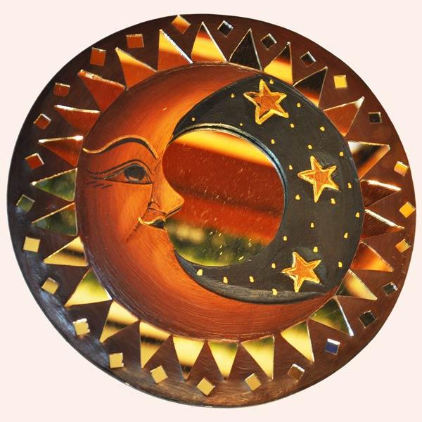 Зеркало декоративное Месяц