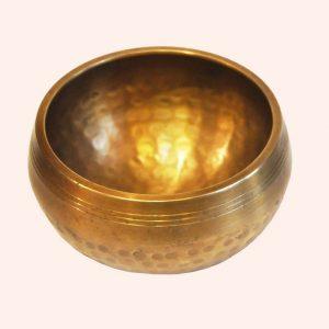Поющая чаша полукованая 7 металлов 10.5 см