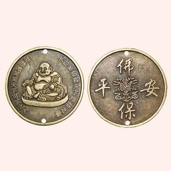 Китайская монета Хотей 5,5 см