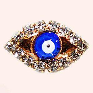 Турецкий глаз брошь 2 см
