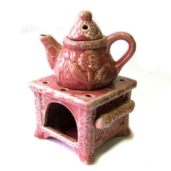 Аромалампа керамическая 14 см Чайник
