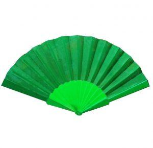 Китайский веер для танца зеленый