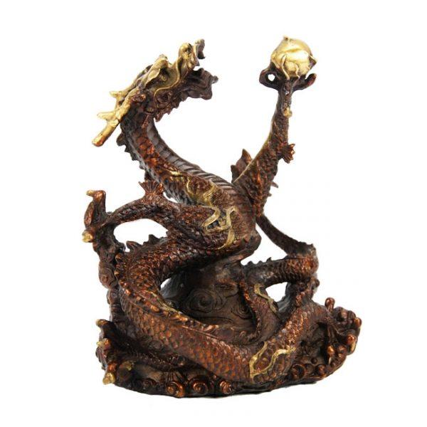 дракон из бронзы