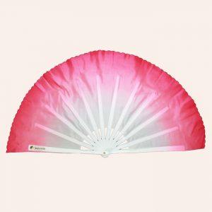 Китайский веер для танца розовый 82 см