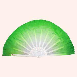 Китайский веер для танца зелёный 82 см