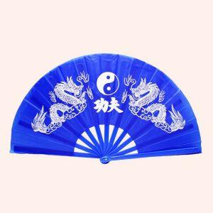 Китайский веер для танца с драконом 64 см с драконом
