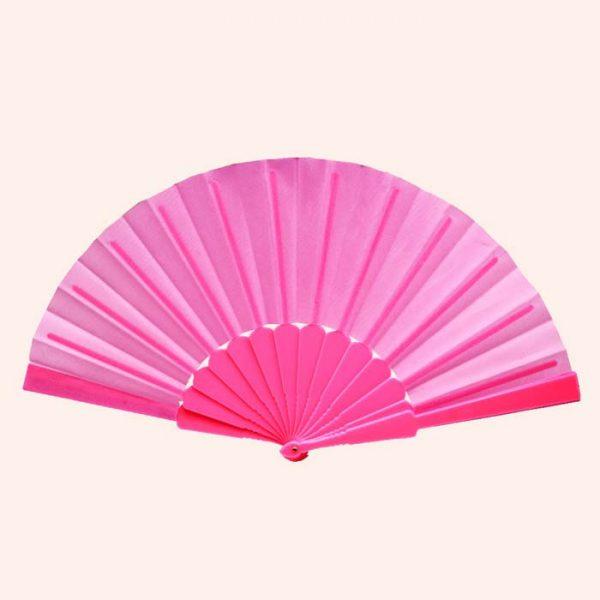 Китайский веер для танца розовый