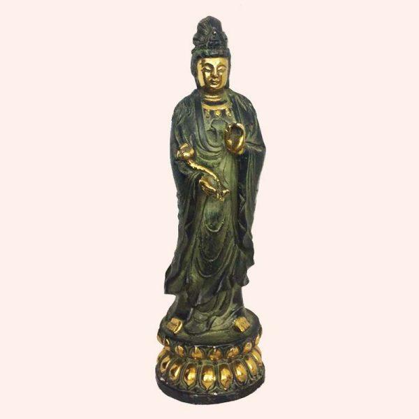 Гуань Инь статуя из бронзы