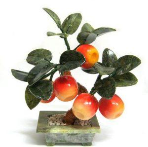 Дерево счастья 5 яблок 18 см