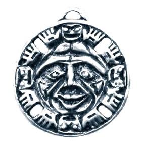 Амулет Индейский Дух Бога Солнца