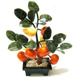 Дерево счастья 5 мандаринов 19 см