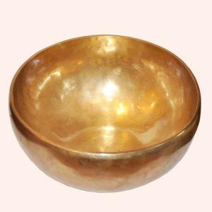Поющая чаша Тибета кованая 7 металлов 20см