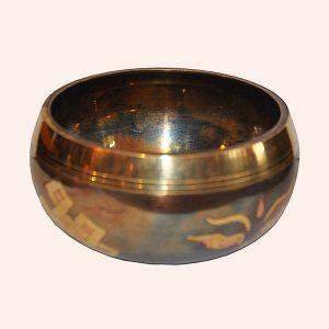 Поющая Чаша 7 металлов храмовая 10 см