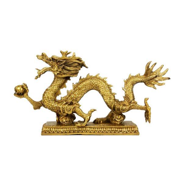 фигурка дракона из бронзы