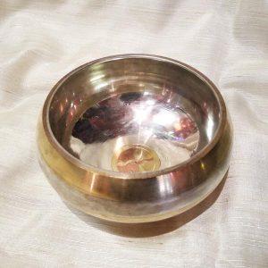 Поющая Чаша 5 металлов храмовая 14 см