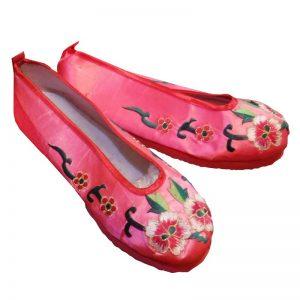 Китайские тапочки розовые