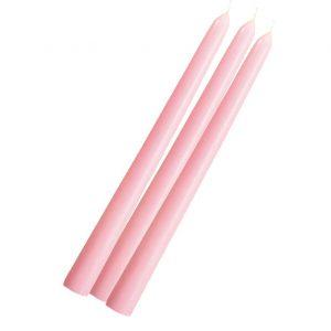 Розовая свеча