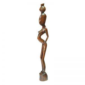 Африканская статуэтка из дерева