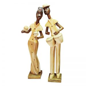 Статуэтка африканская пара