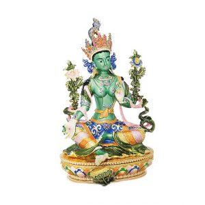 Богиня Зеленая Тара шкатулка