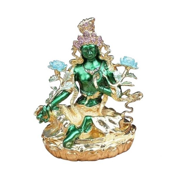 Богиня Зеленая Тара Защитница шкатулка
