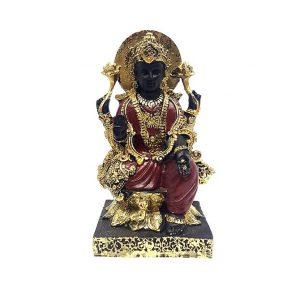 Богиня Лакшми Черная под Золото